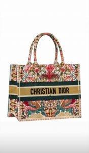 Dior Embroidered Book Tote - Cruise 2021