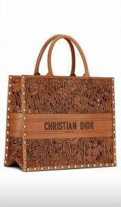 Dior Laser Cut book tote - Cruise 2021