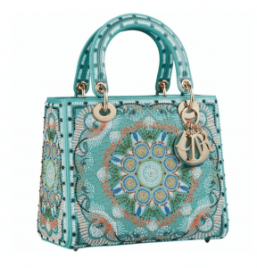 Lady Dior In Lights Emboridered Bag - Cruise 2021