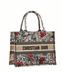 Dior Small Mille Fleur Book Tote - Cruise 2021