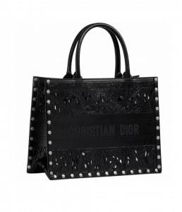 Dior Black Book Laser Cut Tote - Cruise 2021