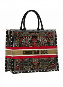 Dior Book Tote In heart Embroidered - Cruise 2021