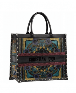 Dior In Lights Embroidered Book Tote - Cruise 2021