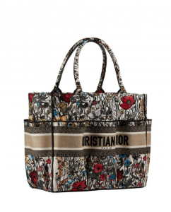 Dior Garden Tote with Floral Embroidery - Cruise 2021