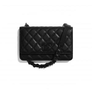 Chanel Black My Everything Wallet on Chain