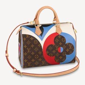 Louis Vuitton Game On Monogram Speedy Bandoulière 30 Bag
