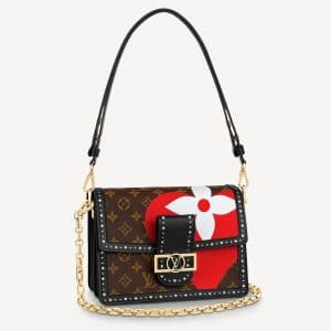 Louis Vuitton Game On Monogram with Perforated Trim Dauphine MM Bag