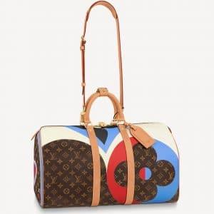 Louis Vuitton Monogram Game On Keepall Bandouliere 45 Bag