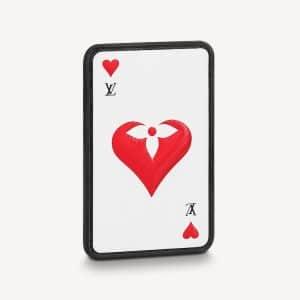 Louis Vuitton White Epi Game On Card Holder