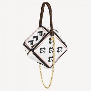 Louis Vuitton White Game On Square Bag