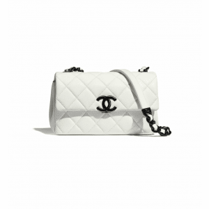 Chanel White/Black My Everything Small Flap Bag