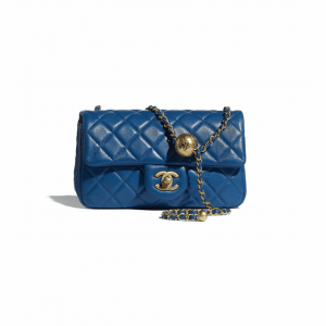 Chanel Blue Pearl Crush Small Flap Bag
