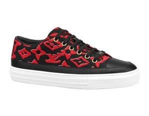 Louis Vuitton x Urs Fischer Black/Red Sneaker