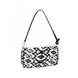 Louis Vuitton x Urs Fischer Black/White Pochette Accesoires