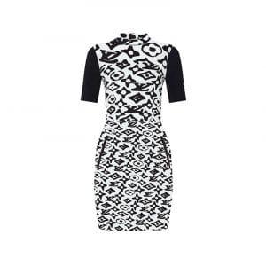Louis Vuitton x Urs Fischer White/Black Dress