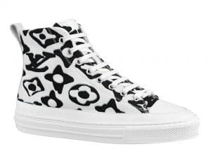 Louis Vuitton x Urs Fischer White/Black Sneaker Boot