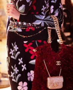 Chanel Velvet Satchel - Prefall 2021
