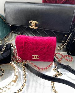 Chanel Camellia Mini Pink WOC - Prefall 2021