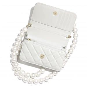 Chanel Maxi Pearls Mini Wallet on Chain 2