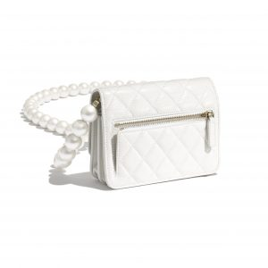 Chanel Maxi Pearls Mini Wallet on Chain 3