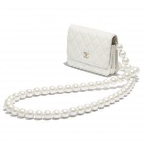 Chanel Maxi Pearls Mini Wallet on Chain 1