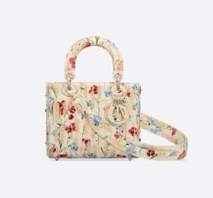 Lady Dior ABC Hibiscus Bag - Spring 2021