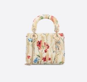 Lady Dior Hibiscus Mini Bag - Spring 2021