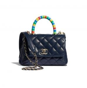 Chanel Rainbow Coco Handle Bag - Spring 2021