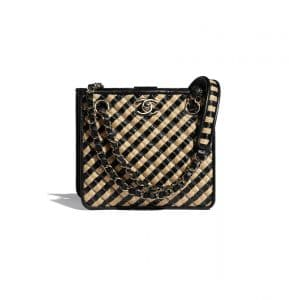 Chanel Raffia Messenger - Spring 2021