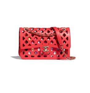 Chanel See Through Red Flap Bag - Spring 2021