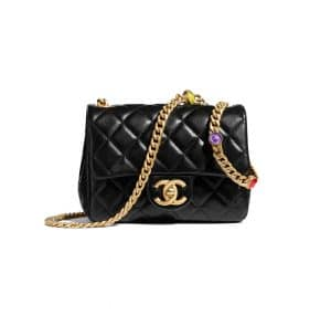 Chanel Black Resin Chain Mini Bag