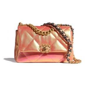 Chanel 19 Pink Iridescent - Spring 2021