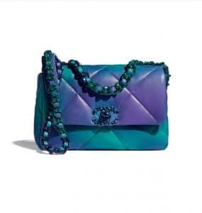 Chanel 19 Small Tie-Dye Calfskin - Spring 2021