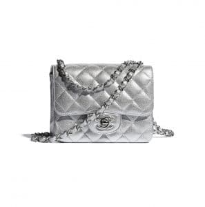 Chanel Silver Mini Bag - Spring 2021