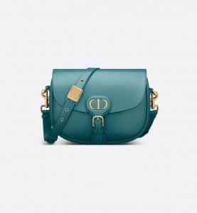 Dior Deep Ocean Blue Bobby Bag - Spring 2021