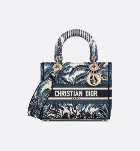 Dior D-Lite Blue Palms - Spring 2021