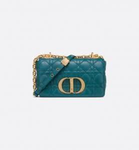 Dior Caro Flap Deep Ocean Blue - Spring 2021