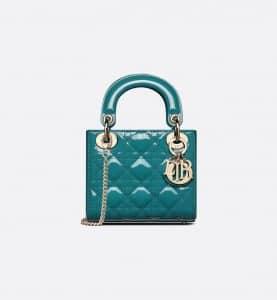 Lady Dior Deep Ocean Blue BB Bag - Spring 2021