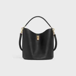 Celine Black Bucket 16 Bag