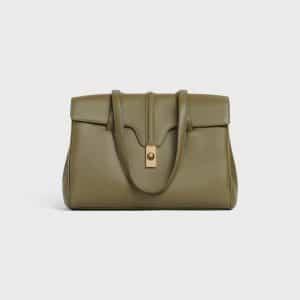 Celine Dark Olive Medium Soft 16 Bag