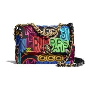 Chanel 19 Graffiti Bag - Spring 2021