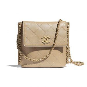 Chanel Beige Messenger Bag - Spring 2021