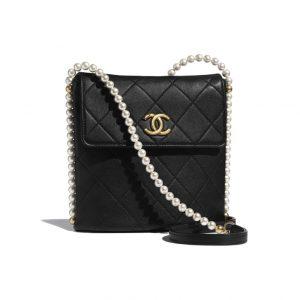Chanel Black Pearl Messenger Bag - Spring 2021