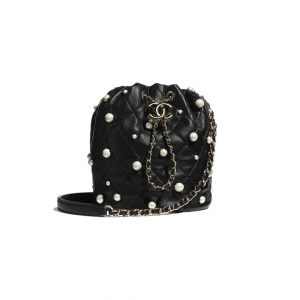 Chanel Chain Drawsring with Pearl Bag - Spring 2021