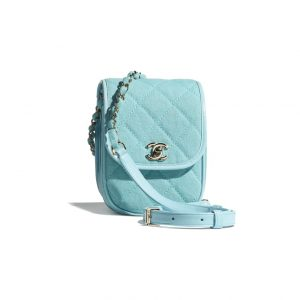 Chanel Denim Light Blue Camera Bag - Spring 2021