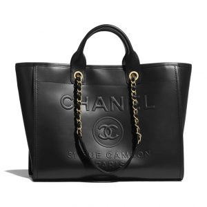 Chanel Embossed Deauville Tote - Spring 2021