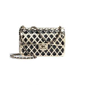Chanel Gold Tone Evening Bag - Spring 2021
