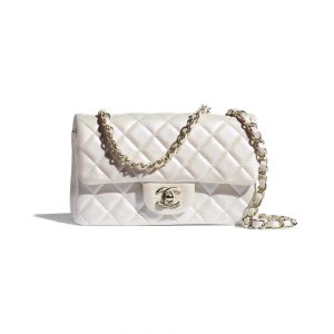 Chanel Iridescent Pearl Mini Flap - Spring 2021