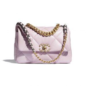 Chanel Light Pink 19 Bag - Spring 2021