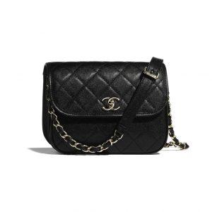 Chanel Mini Black Messenger Bag - Spring 2021